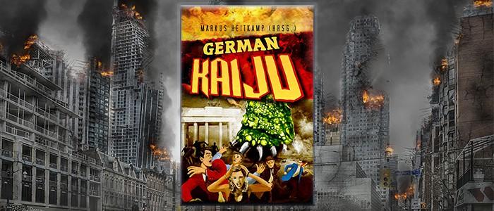 German Kaiju auf Hintergrund