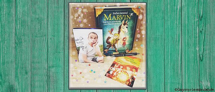 Marvin mit Hintergrund